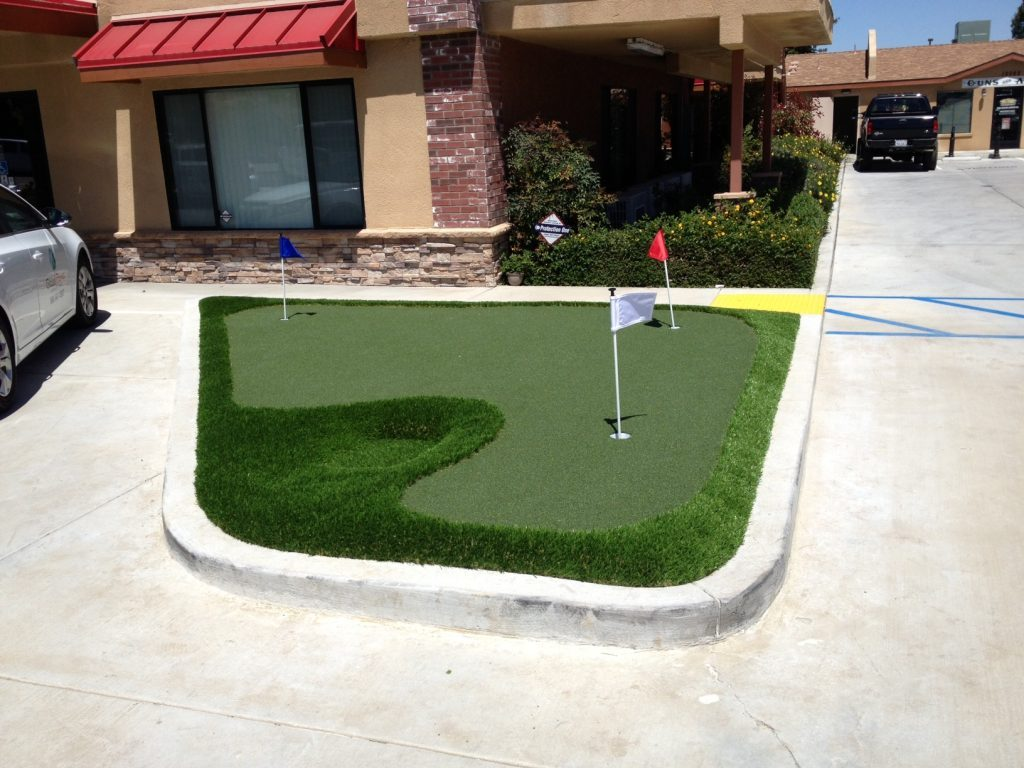 Synthetic Lawn Golf Putting Green Company Oceanside, Best Artificial Grass Installation Prices