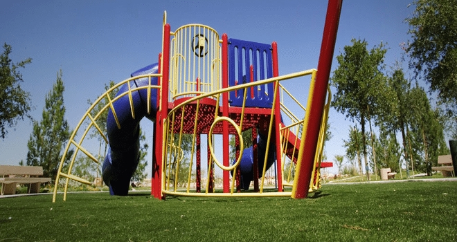 Artificial Grass Playground Installation Oceanside, Synthetic Turf Playground Company