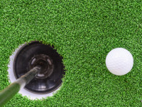 Artificial Turf Golf Greens Installation in Oceanside, Putting Greens Turf Company