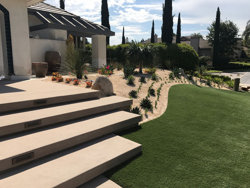 Synthetic Turf Installation Contractor Projects Oceanside, New Residential or Business Project Artificial Landscape Installation
