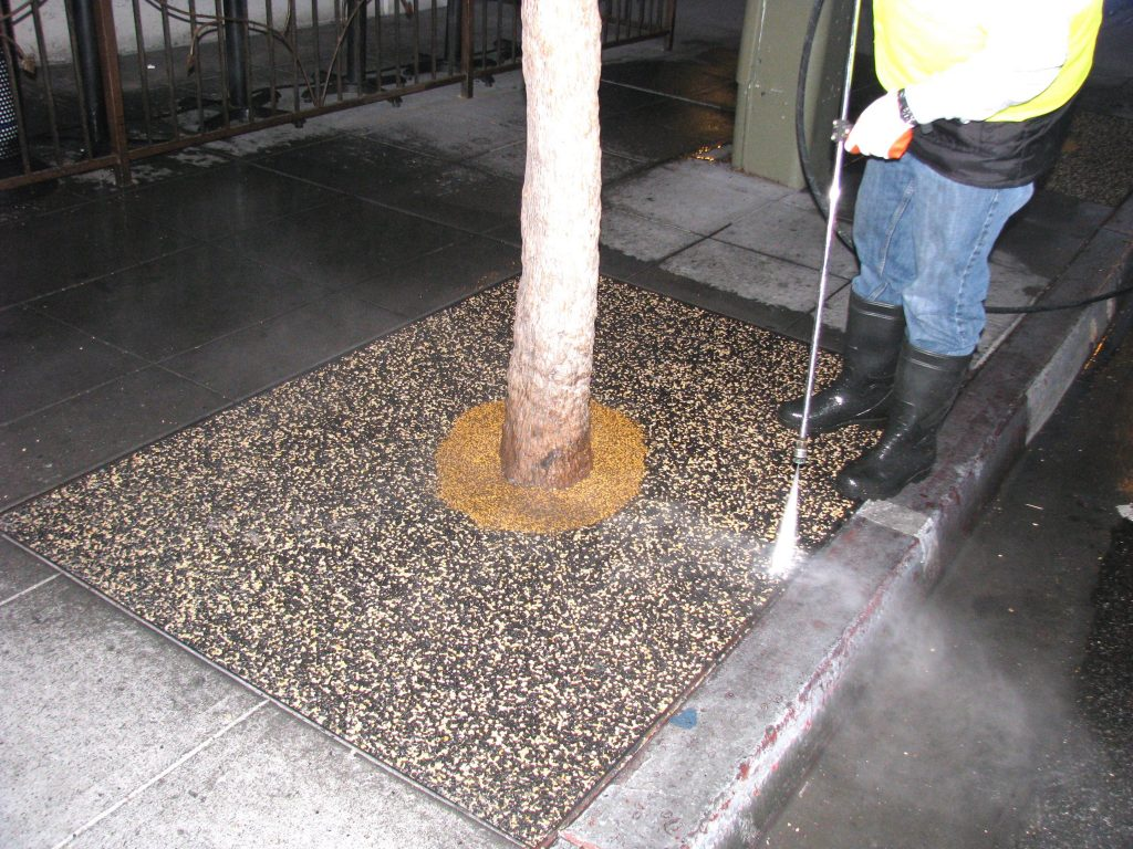 Tree Well Maintenance Service Oceanside, Porous Tree Well Install Oceanside